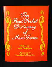 Pocket Dictionary of Music Terms