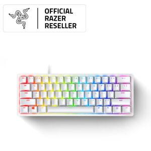 Razer Huntsman Mini Mercury Mechanical Gaming Keyboard - Clicky Optical Switches
