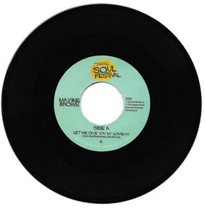 Maxine Brown Let Me Give You My Lovin' / One in A Million Northern Soul