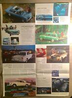 "1963 Studebaker ""AVANTI HAWK CRUISER LARK"" Car Dealer Showroom Sales Brochure"