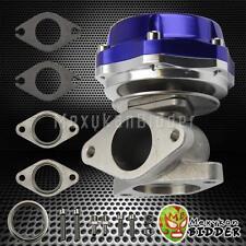 Universal 35mm/38mm 2 Bolt Flange Turbo Boost Manifold External Wastegate Blue