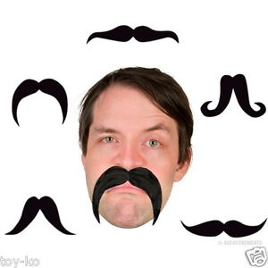 Bendable Party Mustache! Awesome Fake Stache!