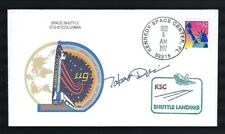 Takao Doi signed autographed postal cover NASA Shuttle Astronaut
