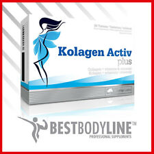 Olimp kolagen Activ PLUS comprimidos de Colágeno Firme Piel Uñas Fuertes Cabello - 80 Tabs