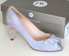Peter Kaiser Womens Samos Peep Toe High Heel, Ice Suede UK Size 7