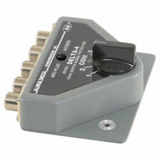 Alpha Delta 4B Coaxial Switch 4 Way with Built in Lightning Surge Protection