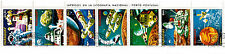 PARAGUAY Strip de 7 T  Conquête de l'espace, satellites, navettes,159T1