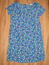 NWT Splendid Girl's Rayon Dot Short Sleeve Blue Dress Sz 12 NEW WITH TAG