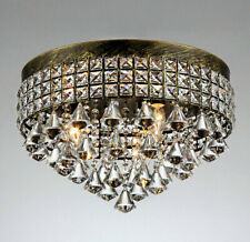 """Warehouse of Tiffany Melly 3 Light Antique 16"""" Crystal Chandelier X6609/3"""