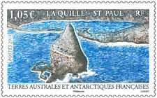 fsat 2018 taaf antarctic La Roche-Quille de St Paul nature sea 1v mnh **