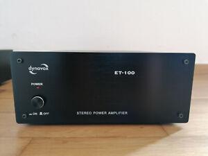 Dynavox ET-100 2 Kanal Verstärker Endstufe