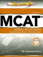 ExamKrackers MCAT Verbal Reasoning & Mathematical