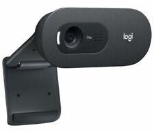 Logitech Webcam C505 HD 720p e Microfono a Lunga Portata - Nera (960-001364)