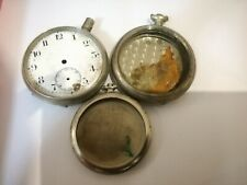 3 pocket watch cases