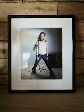 More details for avril lavigne signed framed photo - with certificate of authenticity
