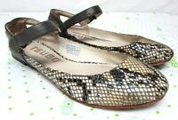 Tsubo women's size 6.5 M ballet flats mary jane leather comfort
