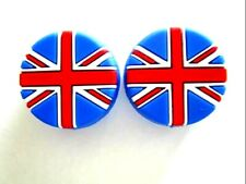 2 Uk Flags United Kingdom England Tennis Vibration Shock Absorber Dampeners Andy
