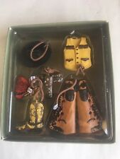 NEW-Old stock Cowgirl set of 6 garments Ornament NWT~Midwest NIB