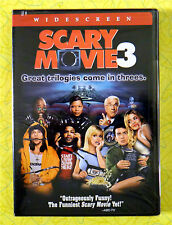 Scary Movie 3 ~ New DVD Movie ~ Charlie Sheen Anna Faris Wayans Spoof Comedy