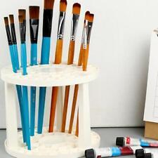 Paint Brush Pen Holder Art Supplies Multi Bin Round Plastic Drawing Organizer US