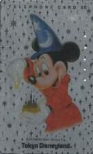 Telefoonkaart / Phonecard Japan - Disney / Mickey Mouse / Disneyland (418)