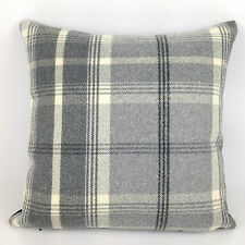 "Luxury Highland Mist Tartan Check Cushion Covers, 16"" x 16"", 7 Colours !!!"