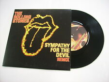 "ROLLING STONES - SYMPATHY FOR THE DEVIL REMIX - 7"" VINYL NUMBERED COPY #0142 NEW"