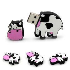 DIBUJOS VACA USB Flash Lápiz de memoria Bolígrafo DRIVE U Disco 8gb 16gb 32gb