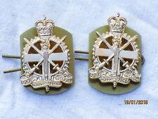 Army Apprentices School,Collar Badges ,Kragenabzeichen,Anodised Aluminium Stayb.