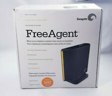 Seagate Free Agent External USB Hard Drive 500 GB HDD Backup System