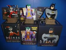 Batman The Animated Series Busts The Joker, Harley Quinn, Batman Limited Edition