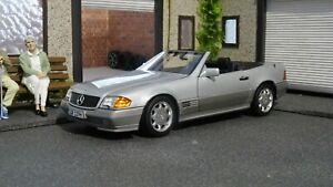 Mercedes SL 500 R129 1/18 Norev Brillant silver metallic 1/18