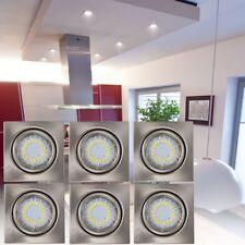 6 x Spots DEL 4,5 watts salle de séjour couloir à encastrer CRISTALDREAM 2305329