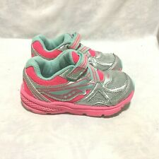 SAUCONY RIDE ATHLETIC RUNNING SHOES MULTI COLOR SIZE 6.5C TODDLER CHILD