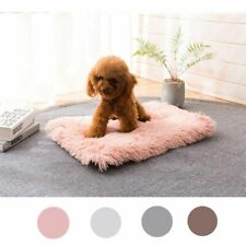 Long Plush Dogs Blankets Cat Bed Fluffy Soft Dog Cat Bed Mats Sleeping Blanket