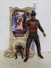 McFarlane Movie Maniacs Nightmare on Elm Street Freddy Krueger Figure LOOSE