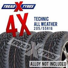 4x 205/55R16 Technic Winter / All Weather Tyres 205 55 16 Free Delivery
