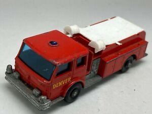 Matchbox Lesney Regular Wheels No 29 Fire Pumper Truck