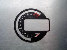Kawasaki Z1000 03-06 Tachoscheiben Tacho Gauge Dial  Ninja black Ziffernblatt