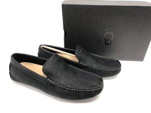UGG Australia Henrick Slip-on Loafer Moccasins Black Driving Loafers 1017317