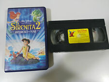 LA SIRENITA 2 REGRESO AL MAR VHS TAPE COLECCIONISTA WALT DISNEY LITTLE MERMAID