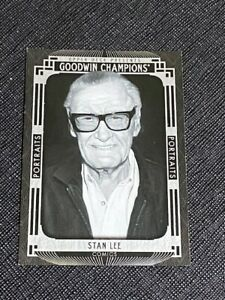 2015 Goodwin Champions Stan Lee Black & White Portraits Card