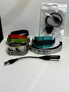 Lot Of 11 Bands And 2 Charging Cords For Fitbit Alta