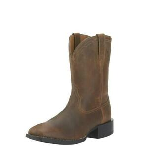 Ariat Mens Heritage Roper Wide Square toe-Sizes 7to13 RRP $249.95 OUR PRICE $205