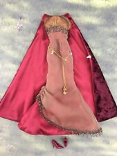 Barbie Morgan Le Fay Complete Outfit Dress And Pumps Witch Outfit