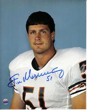 Chicago Bears Jim Morrissey Signed 8x10 Photo #2 Super Bowl XX 1985
