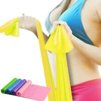 Long Resistance Bands. Flat Latex Free Home Gym Fitness Equipment For BG