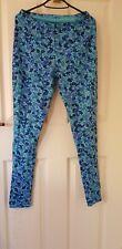 gudrun sjoden m Turquoise Floral Leggings