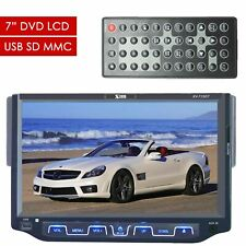 "XTREMEVISION Single Din  7"" DIGITAL DVD LCD TFT TOUCHSCREEN RECEIVER USB SD MMC"