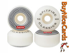 Supreme Set of 4 Classic White 53mm Spirfire Wheels Unused & Unopened